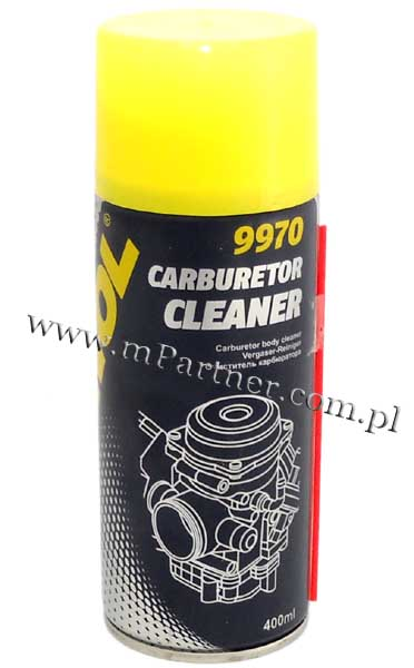 MANNOL Carburetor Cleaner preparat do czyszczenia ga�nika spray